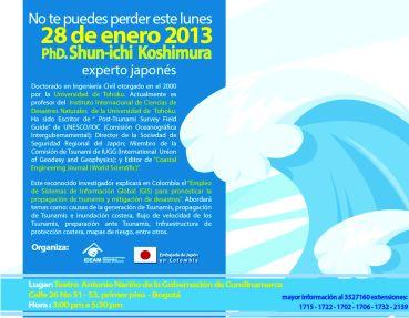 Invitación 28 de enero TSUNAMIS - Embajada de Japón IDEAM final