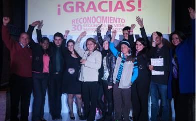 GlaxoSmithKline y las Fundaciones Fundayama, Corazón Rosa, SIMMON y la Asociación AMESE levantaron la mano por las mujeres colombianas.