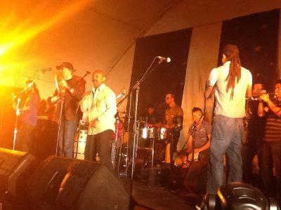Orquesta La 33 en Fiesta de Reyes del 2012