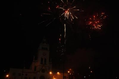 Juegos Pirotécnicos, Fiesta de Reyes del 2012.