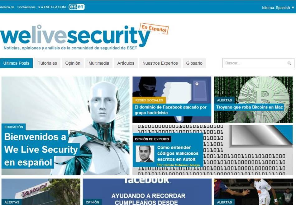 ESET lanza un nuevo portal de noticias de seguridad informática para ...
