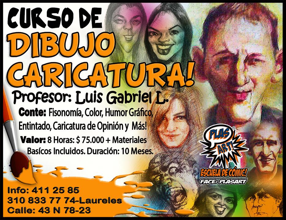 ABIERTO TALLER DIBUJO CARICATURA Medelln Colombia  SITIO