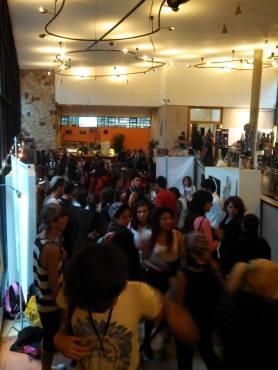 Foto del Salón Cádiz, durante el evento del Salón de los Desterrados 2014