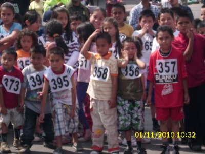 Atletismo: carrera infantil