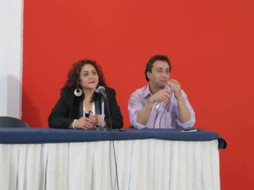 Foto Laura Torres y Alfonso Obregón, cortesía Kiniro Kay