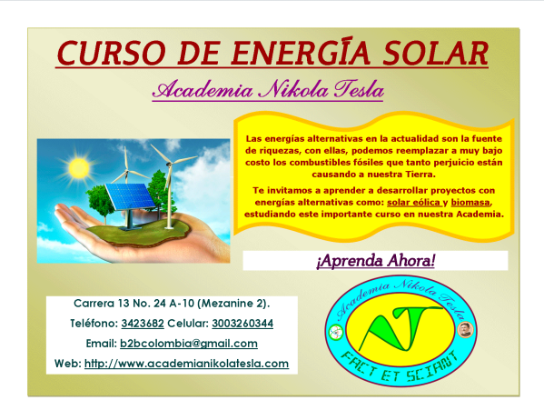 Publicación-Aviso-Curso-Energia-Solar