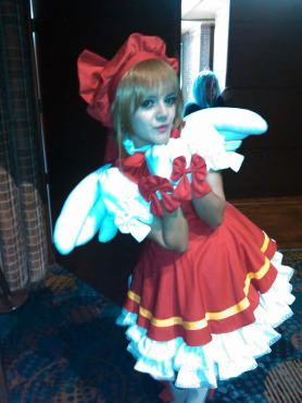 Luna Ochoa, como Sakura Kinomoto (Card Captor Sakura). Foto por: Juan Carlos Quenguan