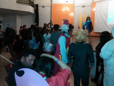 Concierto de Claudia Bramnfsette. Foto por: Juan Carlos Quenguan