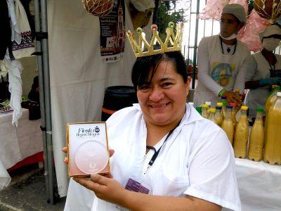 Angela Alarcón, la Reina de La Chicha. Foto por: Juan Carlos Quenguan