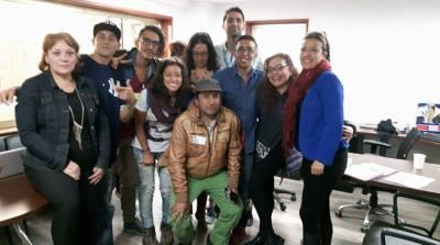 Primera reunión líderes juveniles con la Secretaría Distrital de Integración Social.