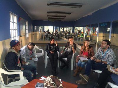 Segunda reunión líderes juveniles con la Secretaría Distrital de Integración Social.