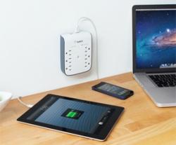 Belkin SurgePlus USB Wall Mount 2