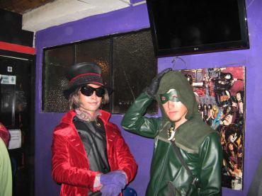 John Pulido como Willie Wonka. Foto tomada por: Juan Carlos Quenguan