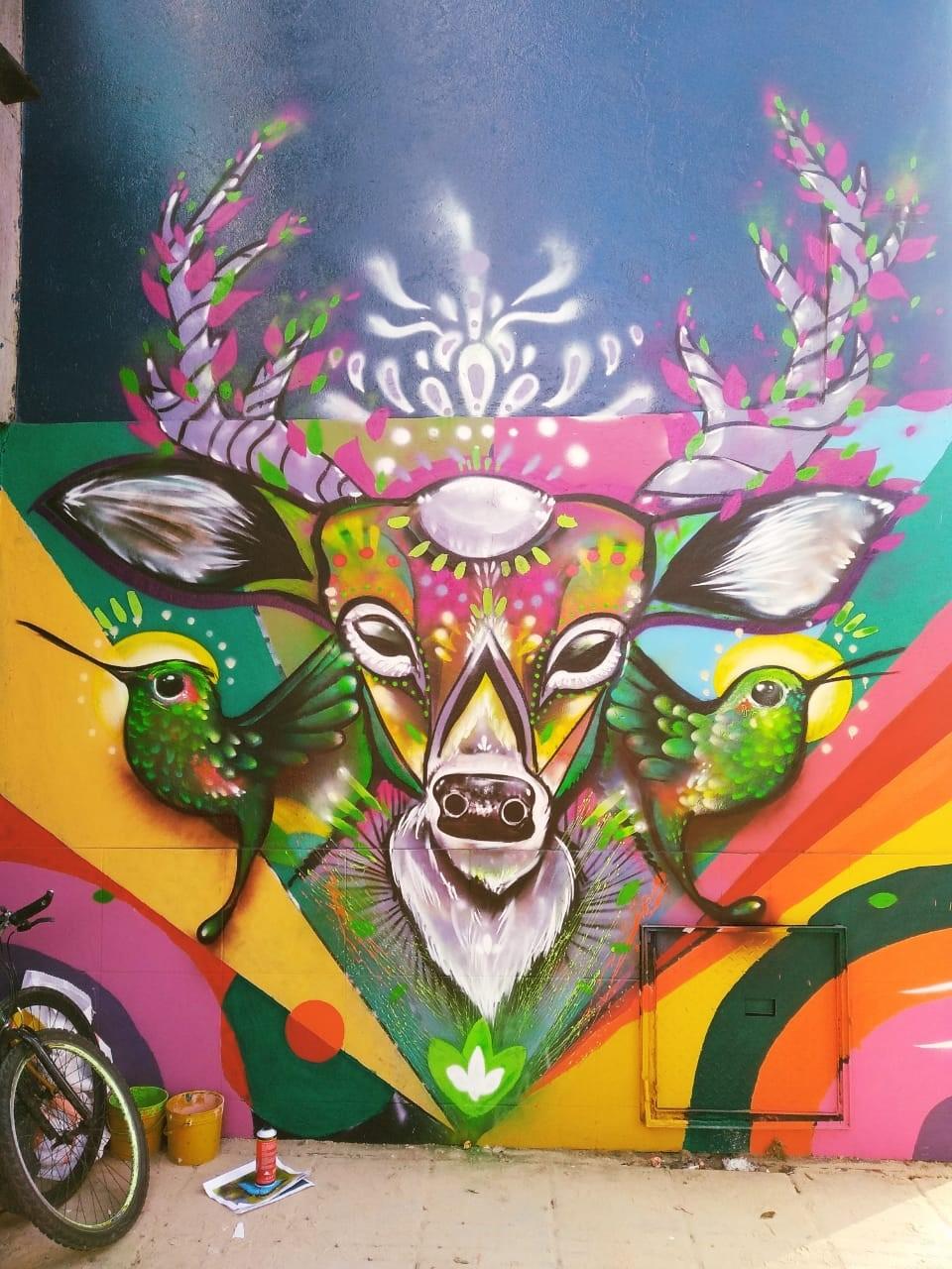 Con Murales La Ciudadania Plasma La Filosofia De Bogota Capital