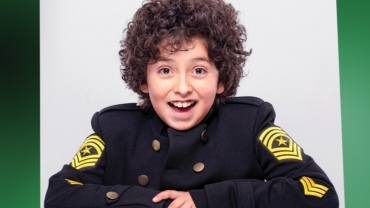 En la foto: El actor, Lukas Kaskas, quien interpretará el personaje de Macario en 'Pombo, el musical'.